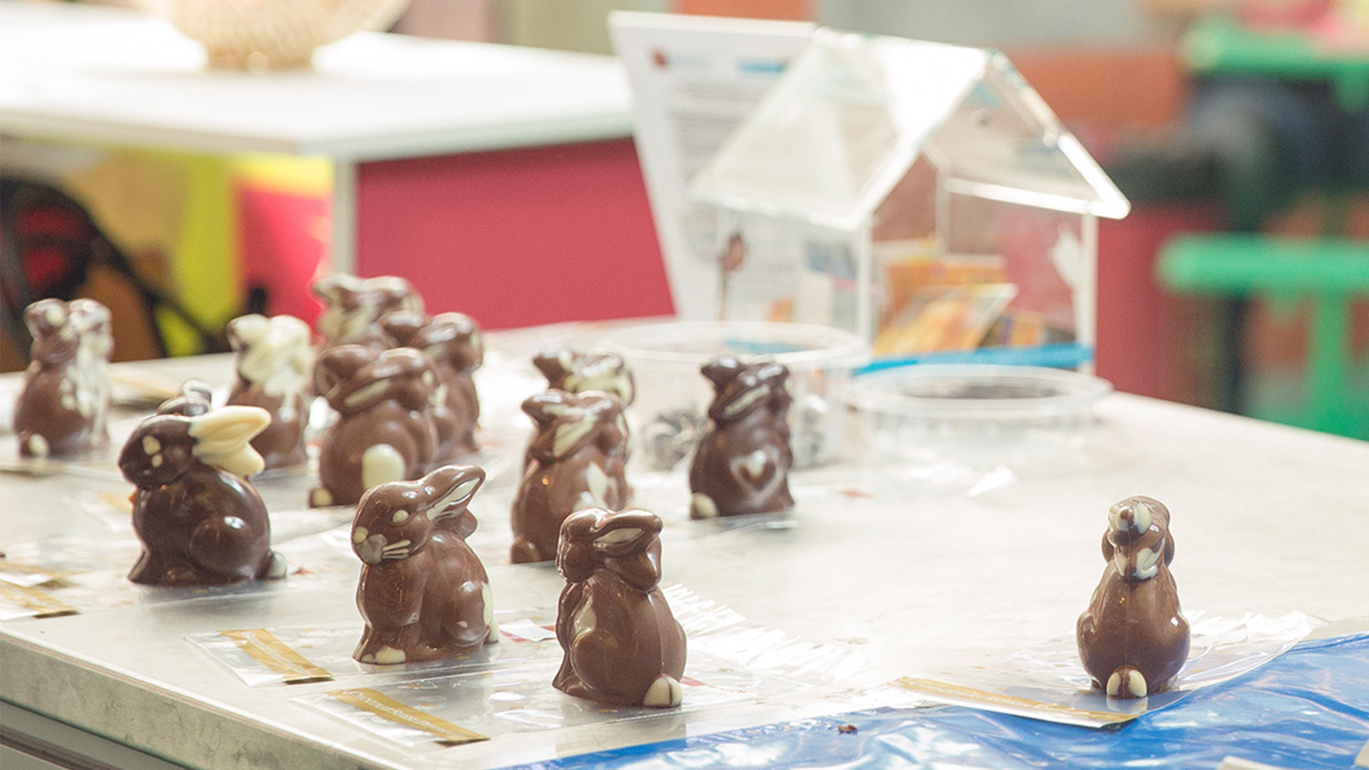 Create your own chocolate easter bunny