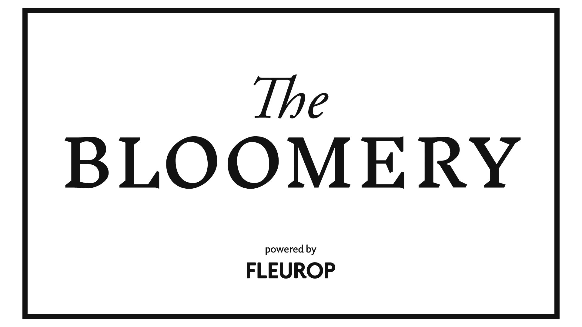 The Bloomery by Fleurop  Eröffnung