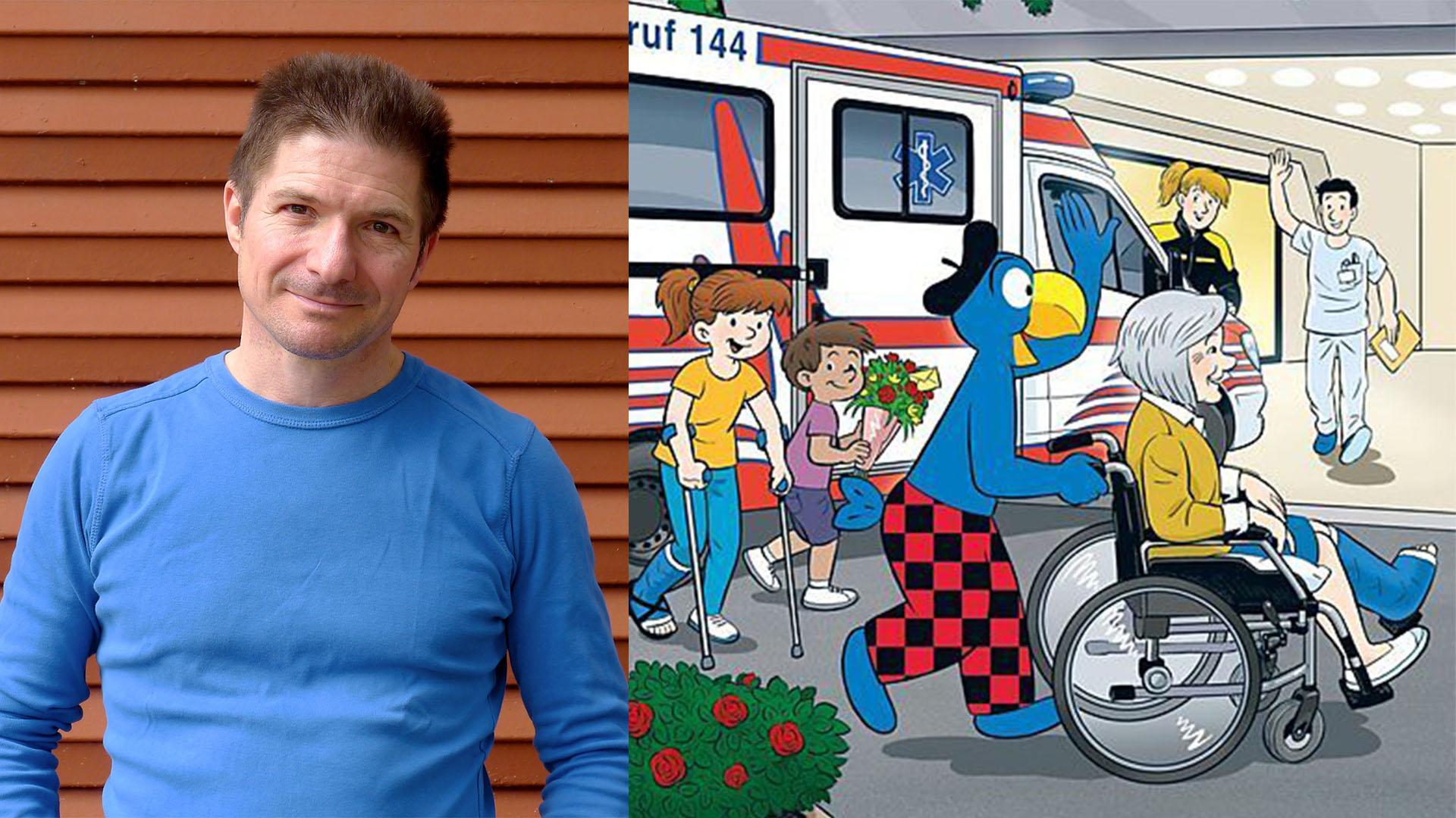 "Glatt Bücherfestival: Kinderlesung ""Globi im Spital"""